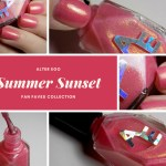 Alter Ego Summer Sunset Swatches (Fan Faves Collection)
