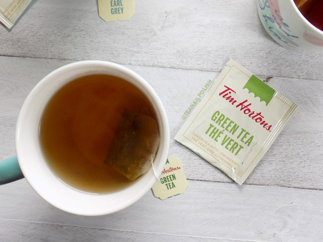Tim Hortons Grocery Store Teas Review - Tim Hortons Green Tea Review