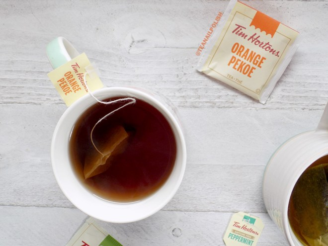 Tim Hortons Grocery Store Teas Review - Tim Hortons Orange Pekoe Tea Review