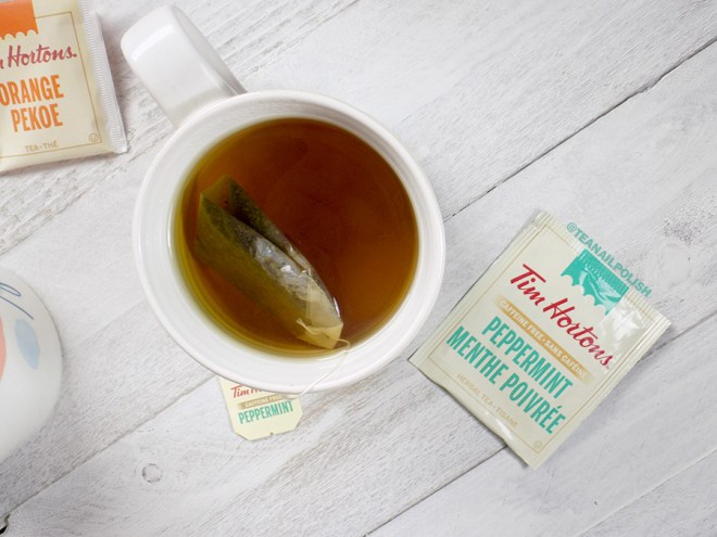 Tim Hortons Grocery Store Teas Review - Tim Hortons Peppermint Tea Review