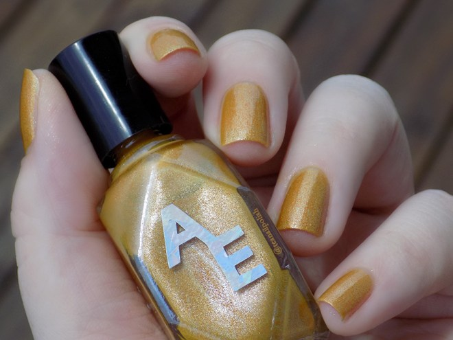 Alter Ego - Forever In Amber - Swatch in Natural Light