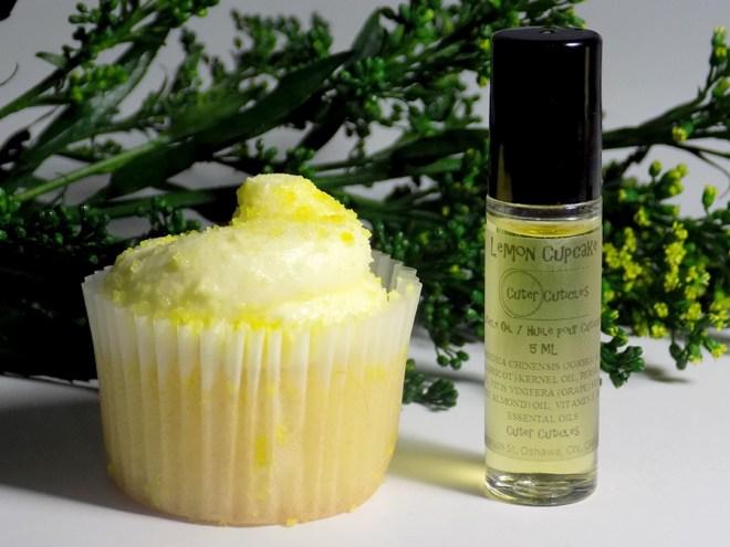 Cuter Cuticles Lemon Cupcake Cuticle Oil Review