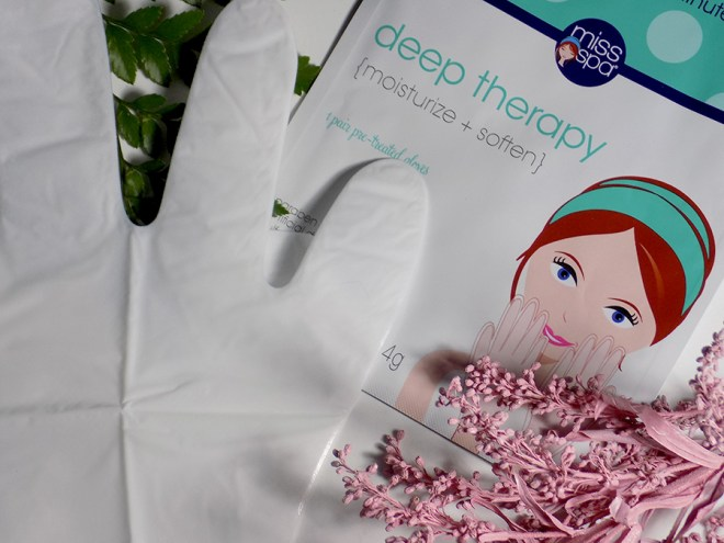 Miss Spa Deep Therapy Glove Hand Masks Review Canada