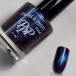 Paint it Pretty Polish I Don't See The Attraction Swatches (Magnetic Collection)