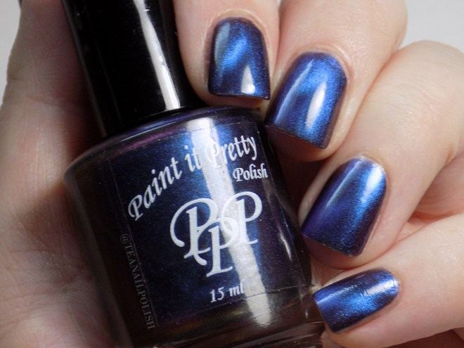 Paint It Pretty Polish - I Dont See The Attraction - Swatch in Artificial Light