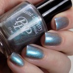Paint it Pretty Polish - Opposites Attract - Swatches Indoor and Artificial Lighting