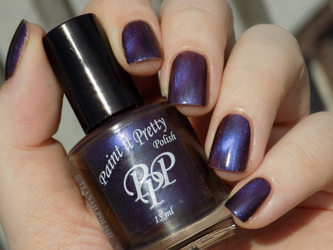Paint it Pretty Polish Magnetic Moment - swatches