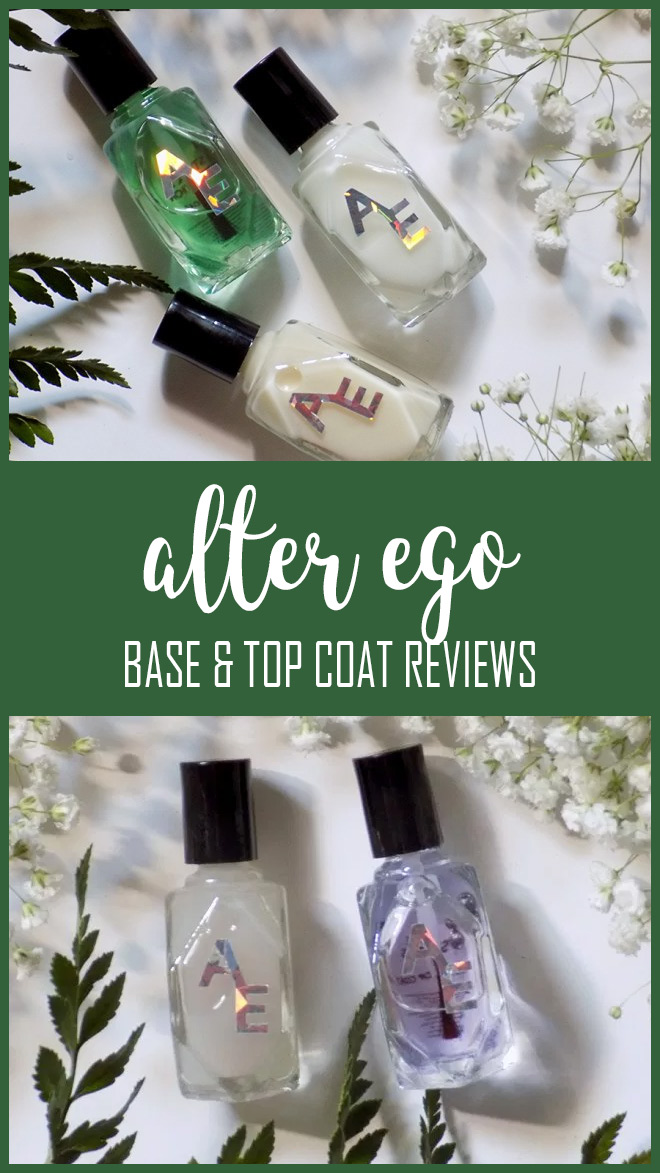 Alter Ego Base & Top Coat Comparison Reviews PIN
