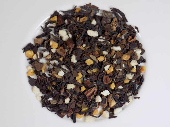 DAVIDsTEA Chocolate Covered Almond Tea Ingredients and Steeping Instructions