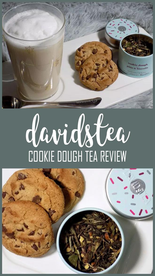 DAVIDsTEA Cookie Dough Throwback Tea Review PIN