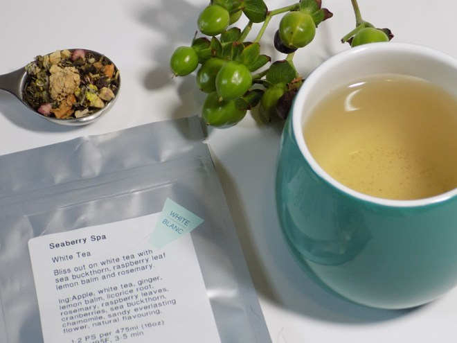 DAVIDsTEA Seaberry Spa Tea Review
