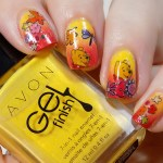Winnie The Pooh Nail Stickers Nail Art CBBxManiMonday