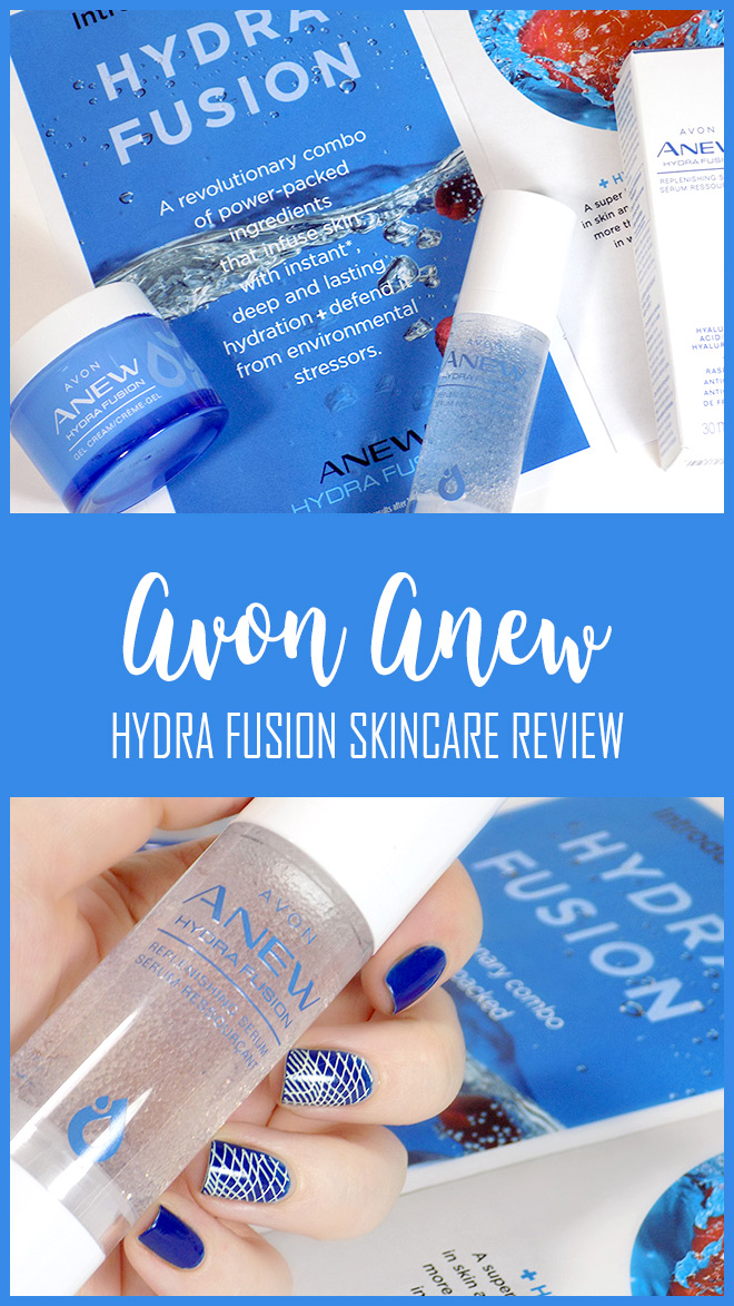 Avon Anew Hydra Fusion Gel Cream and Serum Reviews