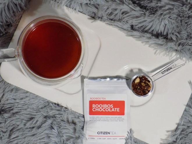 Citizen Tea Rooibos Chocolate Tea Review - Brewed