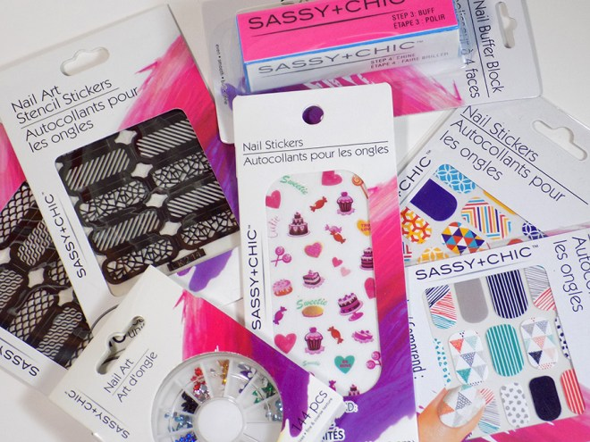 Sassy+Chic Nail Art at Dollar Tree Reviews