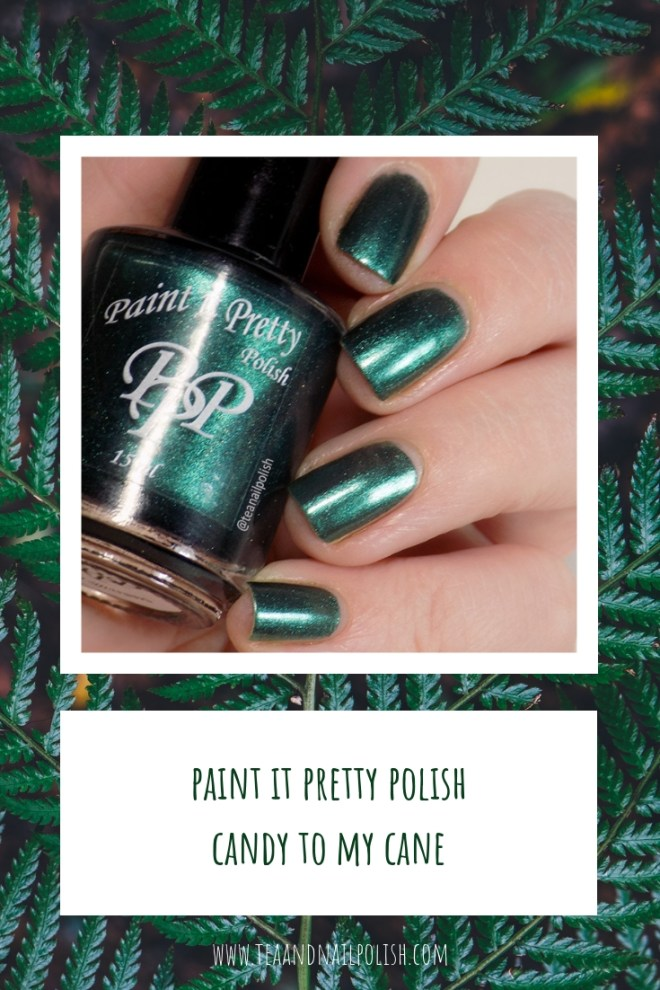 Paint it Pretty Polish Candy to my Cane -- Metallic Holiday Collection 2018 - PIN