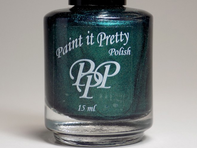 Paint it Pretty Polish Candy to my Cane - Metallic Holiday Collection 2018 - bottle