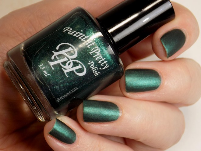 Paint it Pretty Polish Candy to my Cane -- Metallic Holiday Collection 2018 - matte