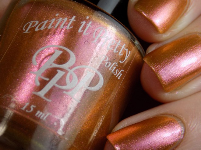 Paint it Pretty Polish Ginger to my Bread -- Metallic Holiday Collection 2018