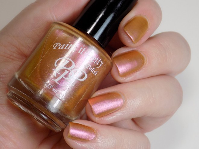 Paint it Pretty Polish Ginger to my Bread -- Metallic Holiday Collection 2018 - Matte