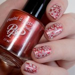 Paint it Pretty Polish Holly to my Jolly - Metallic Holiday Collection 2018 - glossy stamped