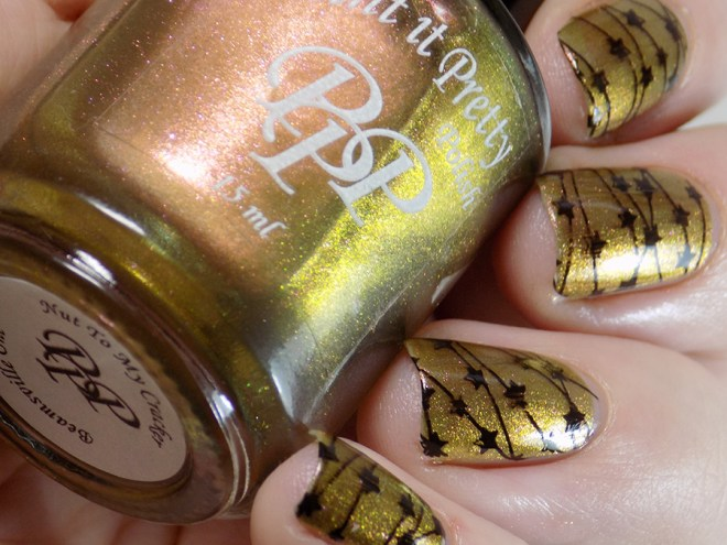 Paint it Pretty Polish Nut to My Cracker -- Metallic Holiday Collection 2018 - Gold Shift