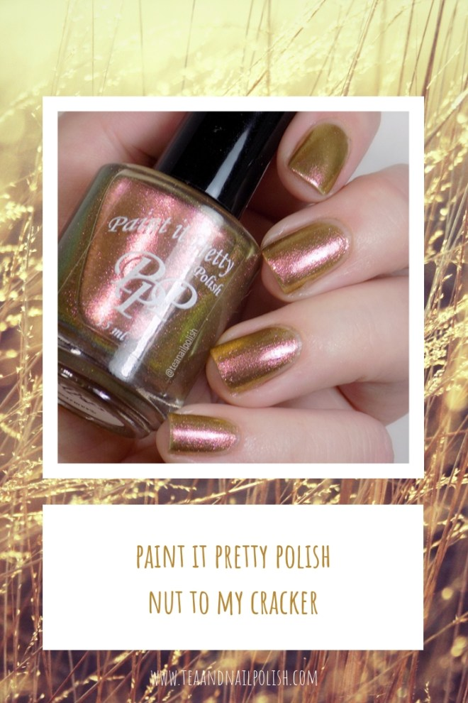 Paint it Pretty Polish Nut to My Cracker -- Metallic Holiday Collection 2018 - PIN