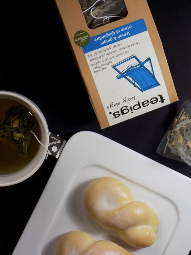 TeaPigs Lemon Ginger Tea Review TeaPigs Lazy Days Review