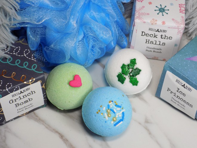Holly Berry Body 2018 Holiday Bath Bombs
