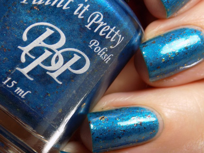 Paint it Pretty Polish PPU I Am The Only One Of My Kind Swatches 1
