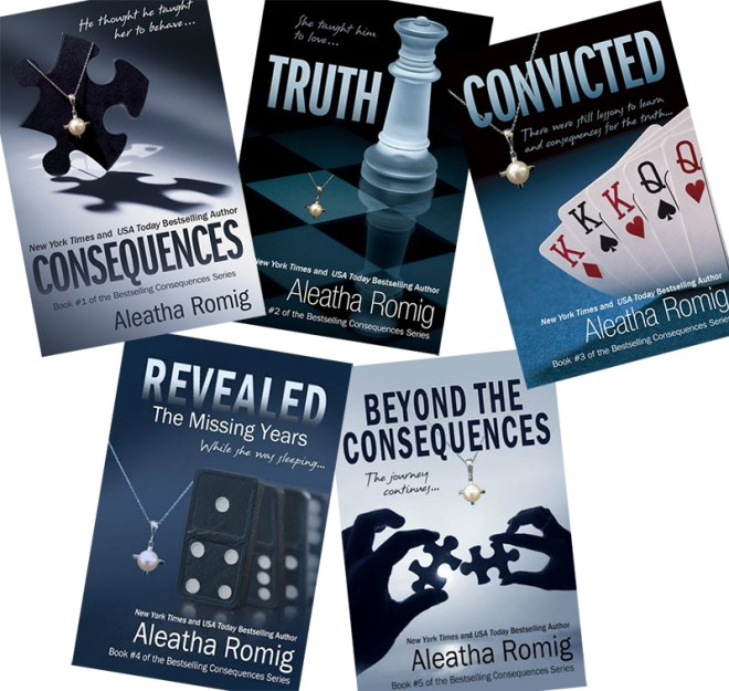 aleatha romig consequences series review