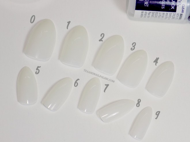 Makartt Stiletto Nail Tips from Amazon Reviews Sizes