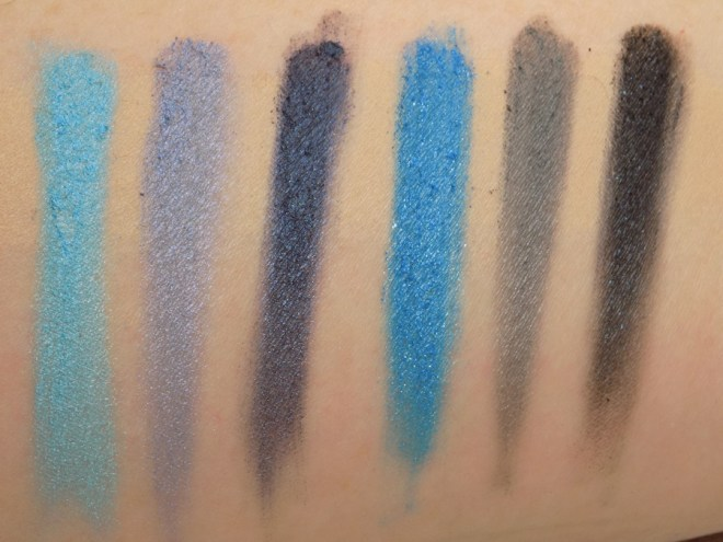 LA Colours Supernatural 12 Shadow Palette Swatches with Primer 2