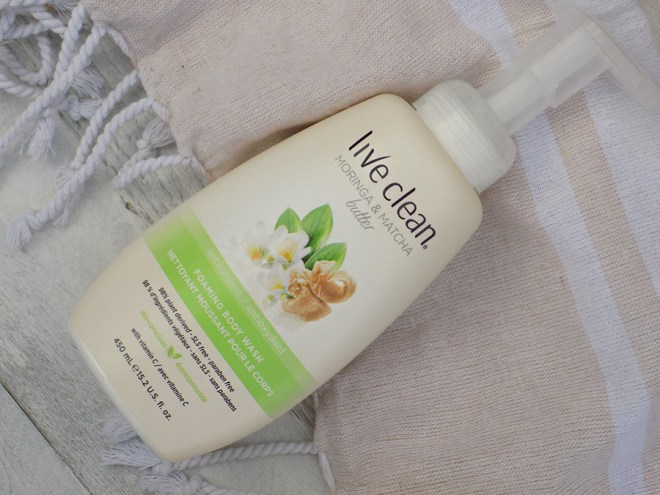Live Clean Foaming Body Wash Moringa and Matcha Butter Reviews