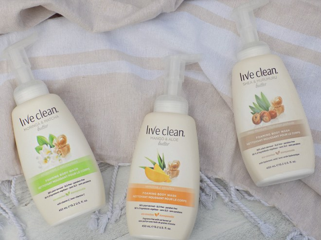 Live Clean Foaming Body Wash Reviews