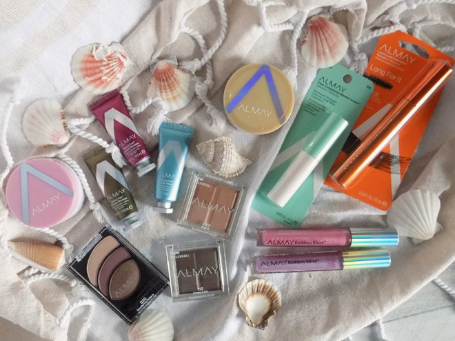 Almay 2019 Spring Summer New Products Swatches