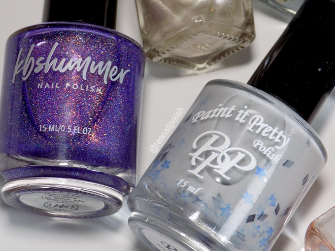 Indie Expo Canada 2019 VIP Bag Polishes - kbShimmer Thanks For Poutine Up With Me and Paint it Pretty Polish VIP at IEC