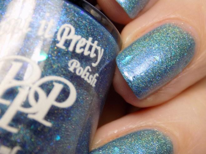 Paint it Pretty IEC Blue Jays Way - closeup swatch