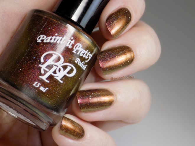 Paint it Pretty Polish - I Laugh In The Face Of Danger - Swatch