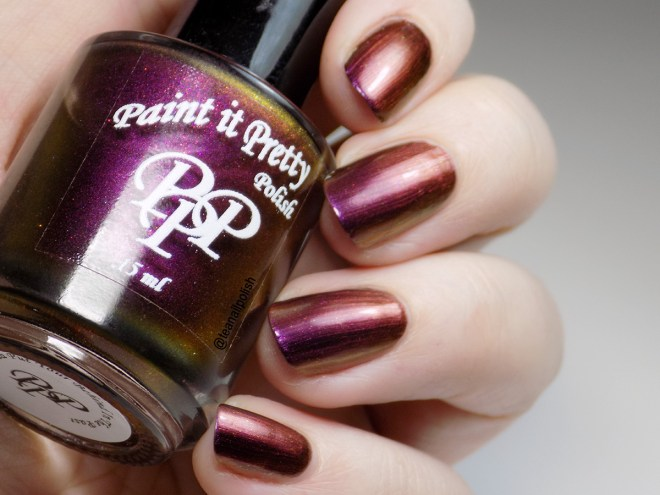 Paint it Pretty Polish - You Gotta Put Your Behind In The Past - Swatch