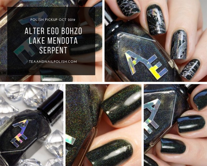 Alter Ego Bohzo Lake Mendota Serpent - Polish Pickup October 2019 - Collage
