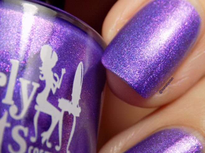 Girly Bits Kiss This Guy Swatches - Misheard Lyrics Collection - Glossy Top Coat Closeup