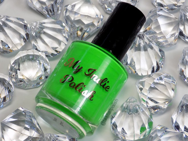 My Indie Polish Neon Green Bottle