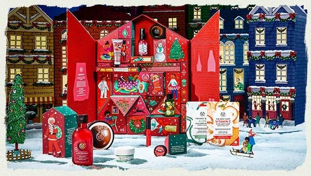The Body Shop Advent Calendars 2019 - The Body Shop Dream Big This Christmas Deluxe Advent Calendar Canada