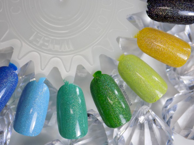 Alter Ego Whats Your Sign holo topper swatches 3