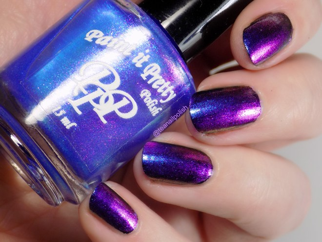 Paint it Pretty Forget Me Not Swatches 5 PPU Feb 2020