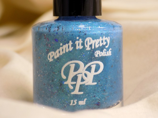 Paint it Pretty Polish - Water of the Sea Swatches 1