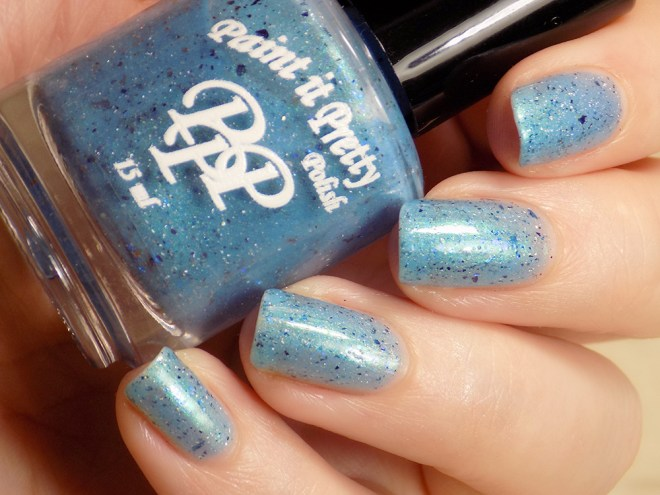 Paint it Pretty Polish - Water of the Sea Swatches 4