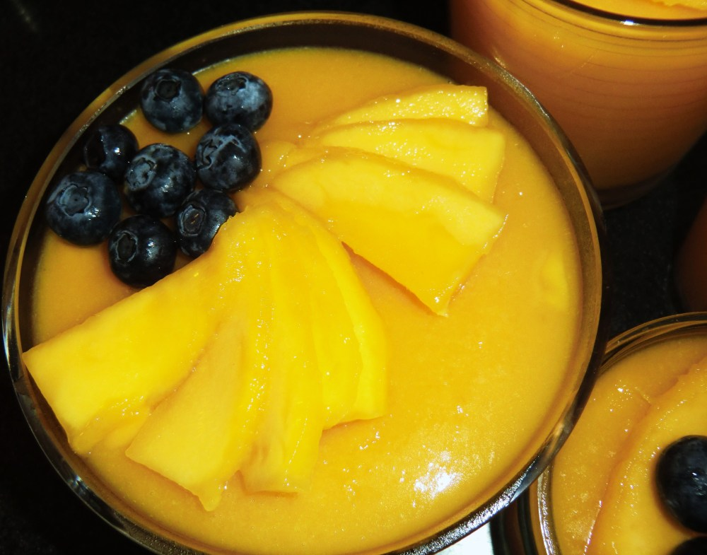 Mango and Coconut Pudding: A lighter dessert after a heavy Chinese New Year meal (2/6)