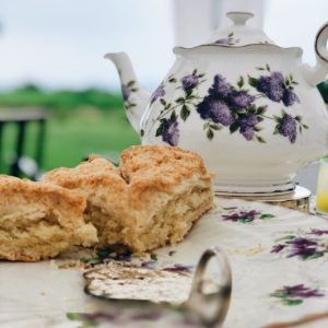 Saturday Morning Tea and Scones